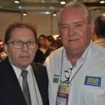 Valdir Walendowsky, secretário de Turismo de Santa Catarina, e Roy Taylor, CEO do M&E