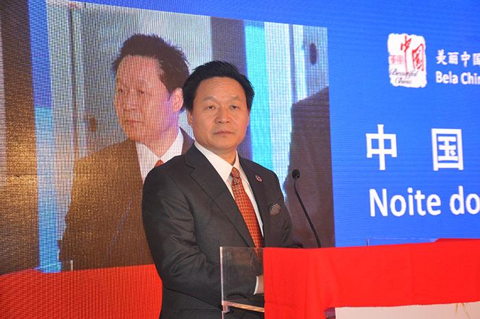 Zhang Xilong, vice-diretor geral do departamento de Intercâmbio Internacional e Cooperação