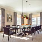 Sala de jantar com espaço para até 24 pessoas