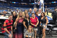 Abreu marca presença na pré-temporada de basquete em Orlando