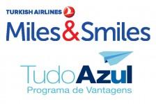 Azul e Turkish firmam parceria para seus programas de fidelidade