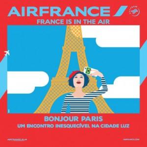 Participantes do Bonjour Paris deverão comparecer de malas prontas a evento em São Paulo (2/11) e no Rio de Janeiro (15/11).