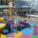 Área de diversão para as crianças