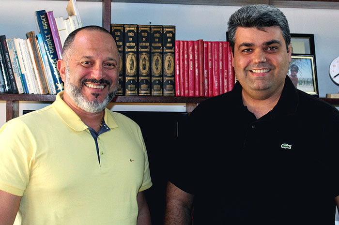 Carlos Augusto de Paula e Richard Alves