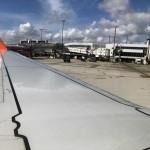 Aeronave da Gol no Aeroporto de Miami