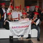 Agentes certificados no treinamento Rail Expert Brasil 2018