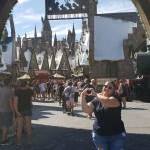 Alessandra Custódio, da Latam Travel, foi conhecer a área dedicada ao Harry Potter