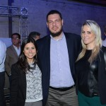 Aline Sobreira e Lia Somavilla, do HotelDO, e Daniel Brunold, da Azul Viagens