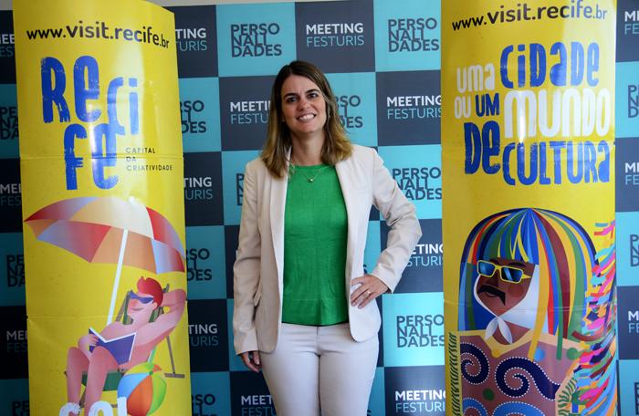 Ana Paula Vilaça, secretaria de Turismo do Recife