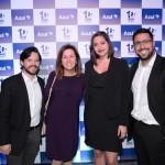 Andre Machado, Maria Correa, Ana Schmidt e Fernando Lopes, da Embraer