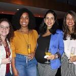 Andreia Alberpaz, da Originale, Damilis Fernandes, da TT Operadora, e Nathalia Alonso e Natalia Rocha, da Originale
