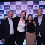 Antonio Americo, da Azul, Roberta Simara e Carin Portela, da CVC Corp, e Marcelo Sanovicz, da Rexturadvance