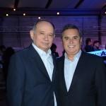 Antonio Americo, da Azul, e Ronaldo Waltrick, da Maiorca Turismo