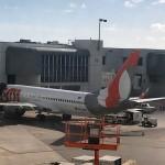 Boeing da Gol no aeroporto de Miami