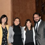 Bruna Freitas, da Aeromexico, Anamara Braga, da Igenomix, Carla Marin, da Aeromexico, e Luis Cavalcante, da Korean Air