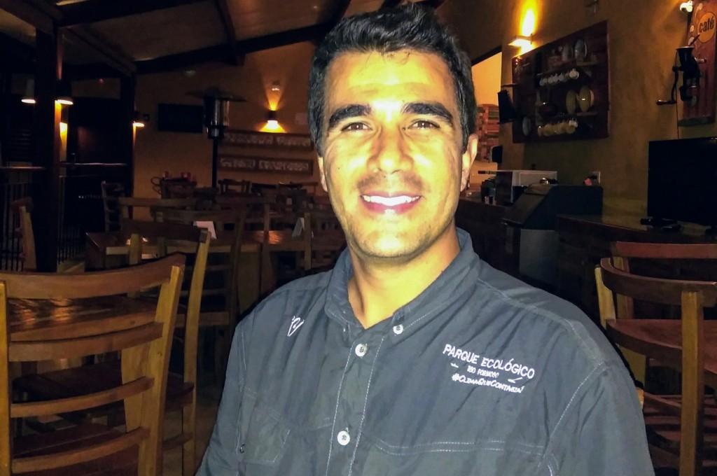 Bruno Leite Miranda, diretor do Parque Ecológico Rio Formoso
