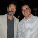 Caio Nouer, da Via Mondo Viagens, e Paulo Requena, da R11