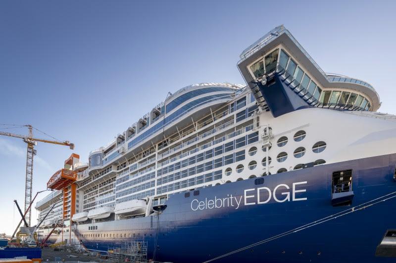 Celebrity Edge parte em direção ao Caribe no dia 9 de dezembro