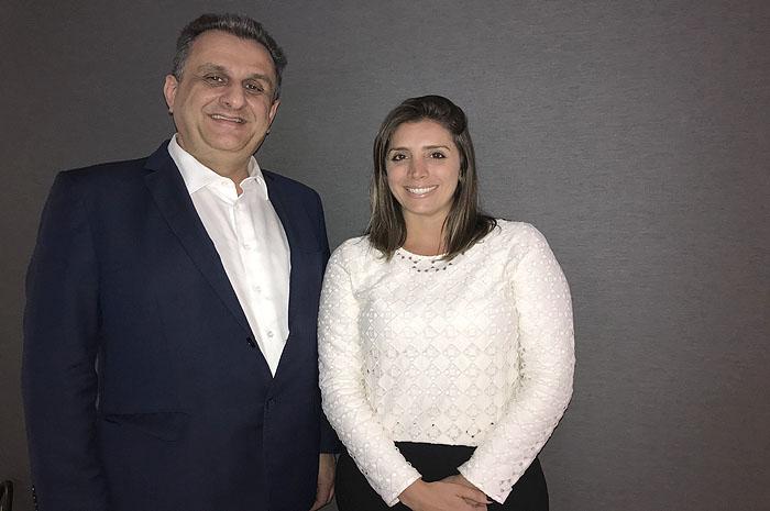 Claiton Armelin e Paula Rorato
