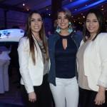 Cristiane Silveira, Gisele Nascimento e Priscilla Souza, da Azul