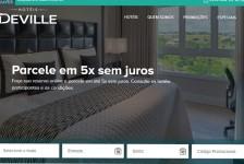 Rede Deville atualiza site com novo motor de reservas