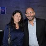 Elisa Kido, da Tunibra Travel, e Marcello Restivo, da Tivolitur