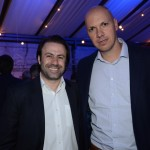 Emerson Sanglard, da Copa Airlines, e Marcelo Kaiser, da Aviareps