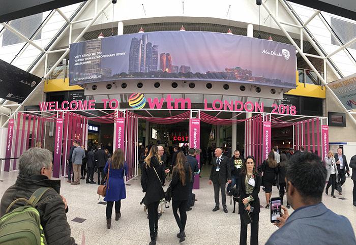 WTM Londres registrou crescimento no número de visitantes e recorde em negócios gerados.