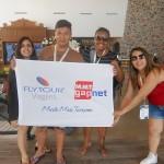 Equipe da FlytourMMT presente no Super Fam