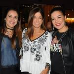 Erika Aguillar, Cristina Pereira e Sabrina Moretti, da R11