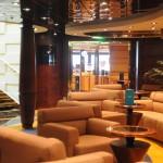 Espaço exclusivo dos hóspedes Yacht Club