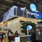 Estande da Argentina