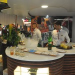 Estande da Embratur ofereceu comidas e bebidas típicas