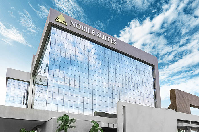 Nobile Suites está entre as Top Brands do setor. na foto o Nobile Suites Maringá (PR)