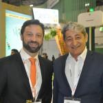 Fabricio Jeronimo, da Gol/KLM, com Mario Albuquerque, da Nobile