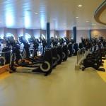 Fitness Center do Symphony of the Seas