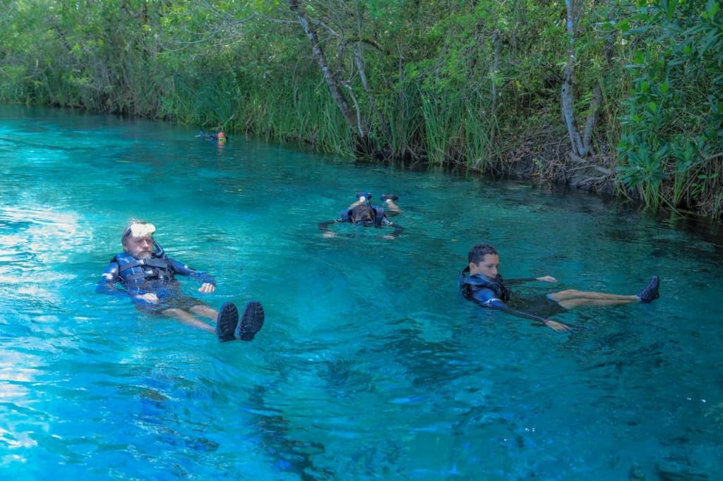 Flutuação no Rio Sucuri. Foto Valter Patriol - H2O Ecoturismo e Eventos (2)