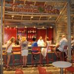 Frellis Bar localizado no Central Park