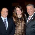 Geraldo Rocha, presidente da Abav Nacional, Magda Nassar, presidente da Braztoa, e Alexandre Sampaio, presidente da FBHA