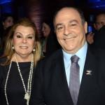 Geraldo Rocha, presidente da Abav Nacional, acompanhado da sua esposa
