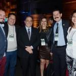 Geraldo Rocha, presidente da Abav Nacional, com a equipe da Pólo Cuesta