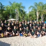 Grupo do Super Fam do Visit Orlando 2018 no Discovery Cove