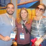 Guilherme Portero, da RCA, Ana Paula Vianna, da New IT, e Gizéllia Ramos, da Sunline