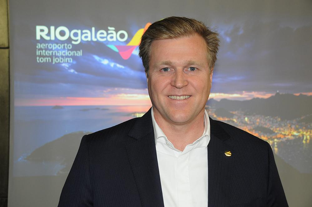 Holger Paulmann, CEO da SKY Airline