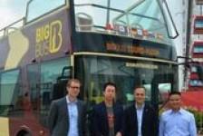 Big Bus Tours fecha parceria com empresa na Ásia