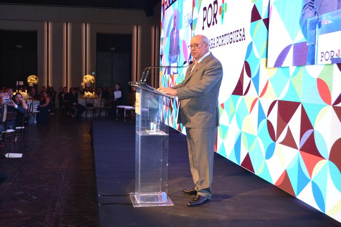 Humberto Pedrosa, principal acionista da TAP, durante o evento