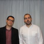 Igor Marinho, da SkyTeam, e Paulo Pinheiro, da Alatur