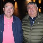 Ivan Pessini e Luiz Roberto, da Globe Turismo
