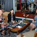 Jacqueline S Missel, Oluxos, Fernanda Sarubbi, da Saint-Martin, e Kellen Masuchette, da Premiere Viagens