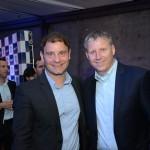 José Mario Caprioli, presidente executivo holding Azul S.A, e John Rodgerson, presidente da Azul